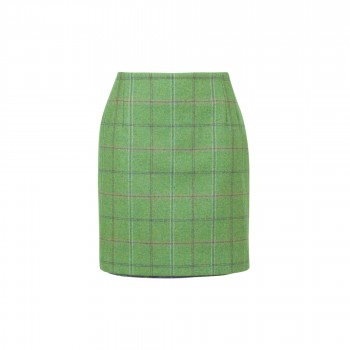 Compton Ladies 49cm Skirt Fern