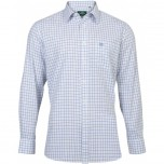 Ilkley Gents Shirt - CHK30 Blue