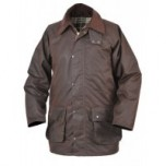 Alan Paine Malton Wax Coat - Brown