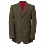 Compton Action Back Blazer - Brown