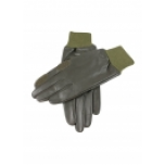 Dents Malvern Leather Shooting Gloves - Olive