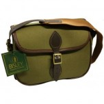 Canvas Cartridge Bag By Bisley - 100 Green