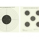 Double Sided 5 + 1 Targets Grade 1 - Pack of 25