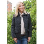 Sherwood Hopton Quilted Jacket Navy