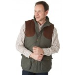 Sherwood Preston Gilet Olive