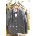 42 Knots Quilted Jacket Navy