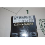 .223 Selior + Bellot 55gr FMJ - Box of 100