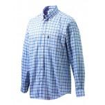 Beretta Classic Shirt - White/Blue Navy Check
