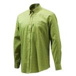 Beretta Classic Shirt - Mustard Check