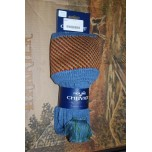 Tayside Blue Mix Socks With Garters