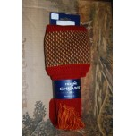 Tayside Brick Red Socks With Garters