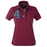 Joules Beaufortroxton Maroon Polo