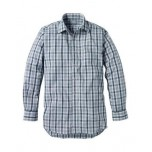 Musto Medium Check Shirt Dark Blue CS1160