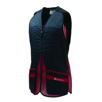 Beretta Silver Pigeon EVO Vest - Blue total eclipse and red